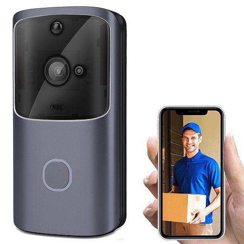 Details about  Wireless Doorbell Camera WiFi Remote Video Door Intercom IR Security Bell Phone