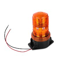 Bogrand Dome 30 LED 12-24V Construction Vehicle Car Warning Strobe Light Beacon Amber School Bus Emergency Flashing Lights