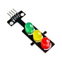Led Traffic Light Module 5V Digital Signal Output Ordinary Brightness 3 Light Separate Control