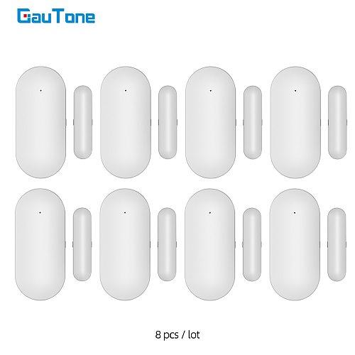 GauTone PB68R Window Door Sensor for 433MHz Home Security Alarm System Detect Door Open / Close