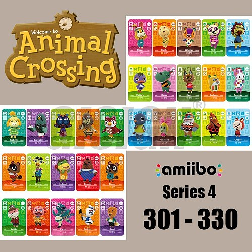 New Horizons Amiibo Animal Crossing Card For NS Switch 3DS Game Marshal Card Set NFC Cards Series 4 (301 to 330) 318 Stitches