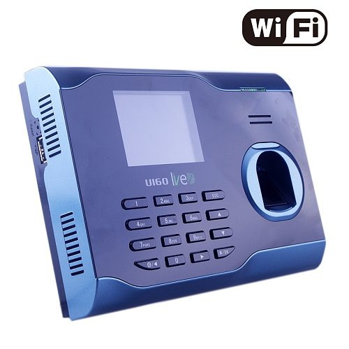 Multi Language Support WIFI Attendance Fingerprint Time Attendance with Built-In Wi-Fi  Real-time Fingerprint Time Recorder