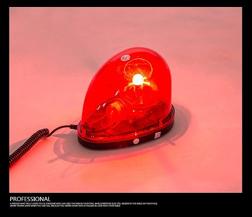 New Magnetic Teardrop DC12V Rotate Beacon Amber Warning light Emergency Car Truck Safety Construction