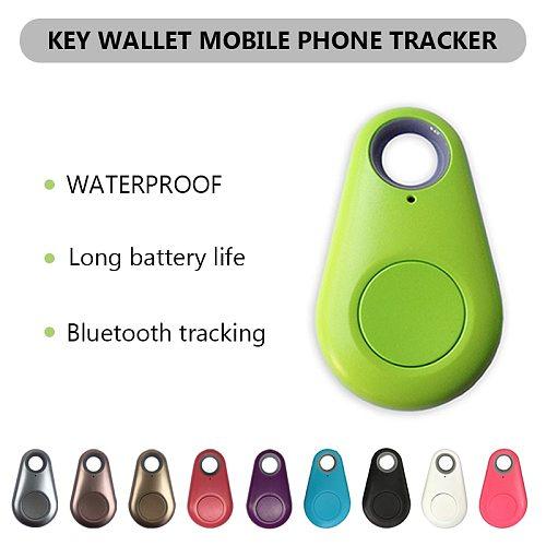 Wireless Bluetooth Smart Dog Pets GPS Tracker Anti-lost Alarm Tag Tracker Child Bag Wallet Key Finder Locator Anti Lost Alarm