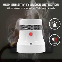 Wofea Wifi Smart Smoke Alarm Home Security Fire Alert System Work With Tuyasmart & Smartlife APP 85db Warning Sound No Need Hub