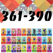 Animal Crossing Card Series  (361 to 390)  For NS Games Animal Crossing NFC Card new horizons work For Switch