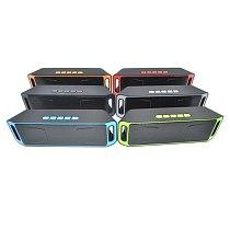 High Quality Portable Bluetooth 4.0 Wireless Speaker TF USB FM Radio Dual Bass Sound Subwoofer Loudspeaker Public Broadcasting