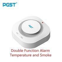 PGST 433MHz Wireless Alarm Smoke Fire Sensitive Detector Home Security Alarm Smoke Detector Sensor Fire Equipment Smokehouse