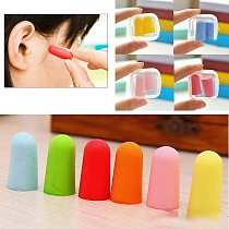 10/5/1 Pairs Soft Foam Anti-noise Earplugs Snore Sleep Learning Hunting Ear Protector Earmuffs Anti Sound Noise Protection Kids