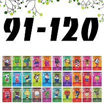 Animal Crossing Card Work NFC Cards Hot Villager Marshal Series 1 2 Game Lobo Card Set (91 to 120)