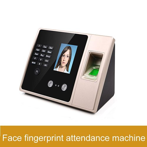 Face Time Attendance Machine Face Fingerprint Recognition Time Attendance Machine English Korean Korean Time Attendance Machine