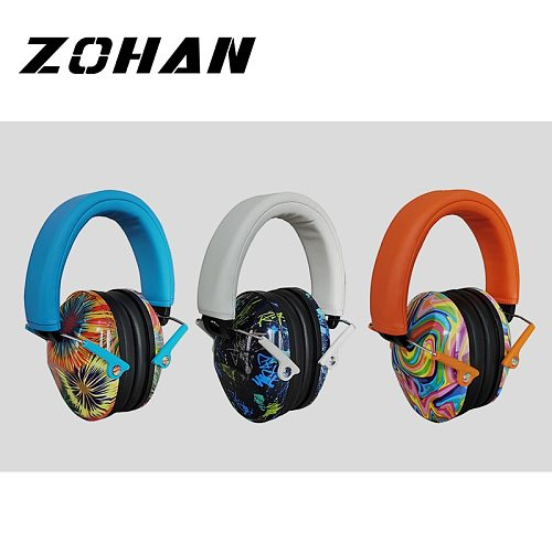ZOHAN Baby Noise Earmuffs for Kid Sleep leaning Ear Defenders Soundproof earmuff children Hearing Protection Headphone