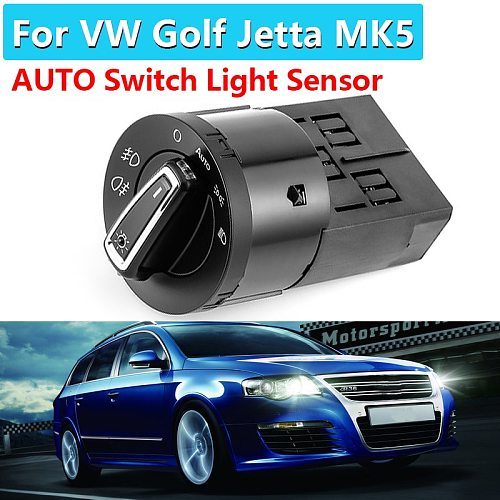 1C0941531New AUTO Headlight Head Lamp Switch Light Sensor For VW Golf Jetta MK5 6 Tiguan Touran Passat Polo Bora