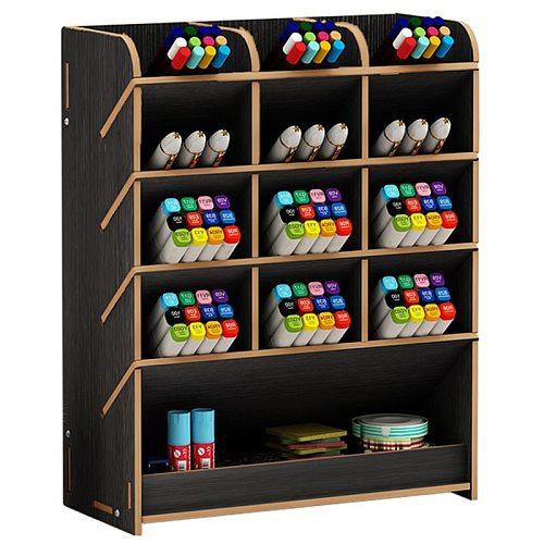 Pen  creative cute learning blogger multifunctional storage box office desktop personality ornaments pen holder organizer