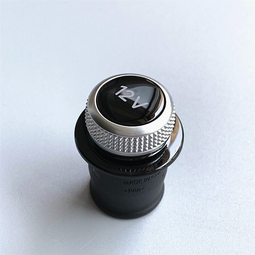 Cigarette Lighter Cover Chrome Plated Cigarette Lighter Plug For Audi A3 A4 A5 Q2 Q7 R8 8W0 919 311 12V
