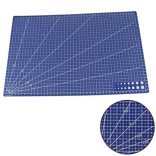 1Pcs A3 Pvc Rectangular Cutting Mat Grid Line Tool Plastic 45cm x30cm A3 Cutting Plate
