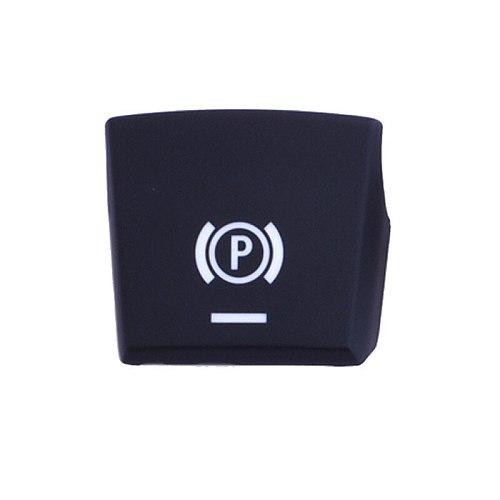 Electronic handbrake P button AUTO panel Plastic Black Cap Switch for BMW 5/7/X3/X4/X5/X6 series F02/F06/F10/F18/F25/F26/F15/F16