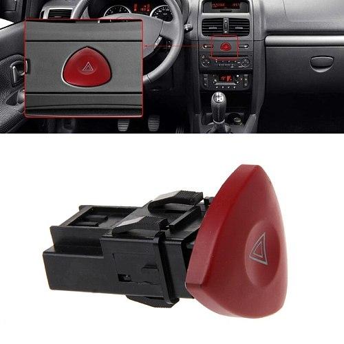 Emergency Hazard Flasher Warning Light Switch For Renault Laguna Master Trafic II Vauxhall