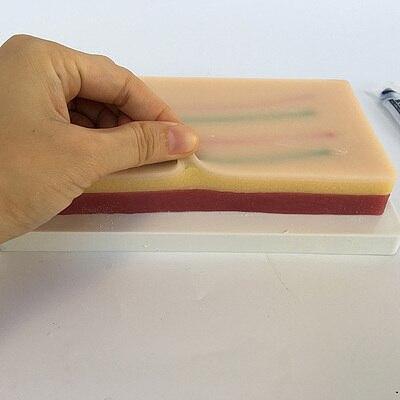 skin intravenous injection practice model intramuscular injection model skin suture model including wound  sponge skin model