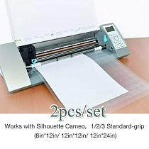 Replacement Cutting Mat Transparent Adhesive Paste Mat Pad With Measuring Grid 12*12-inch For Silhouette Cameo Plotter Machine
