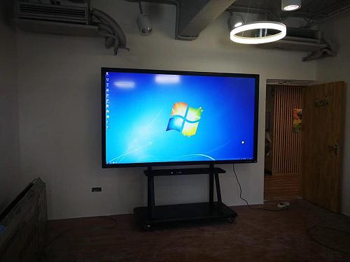 55 65 75 84inch PC built in led television + andriod /windows OS wifi interactive tablets touch screen electronic whiteboard