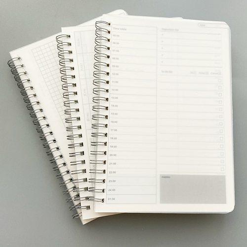 2020 Daily Weekly Monthly Notebook Planner Spiral A5 Notebook Time Memo Planning Organizer Agenda School schedule Supplies
