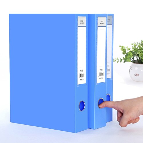 A4 Document File Box 3.5cm Folding Storage Bag Files Folder Office School Organizer File Box