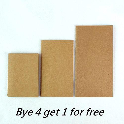 Traveler'S Notebook Refill L/M/S 3 Sizes 9 types Replace Insert standard/portable/passport size krart paper diary