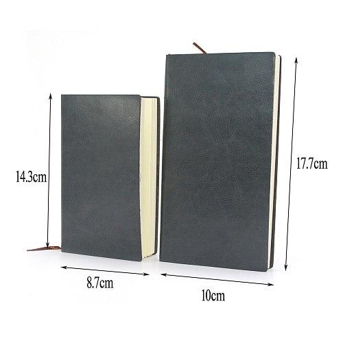 Notebook Planner Agenda 2020 2021 Diary Cuadernos Y Libretas Leather Book Small Pocket Notitieboek Notepad Line Stationery