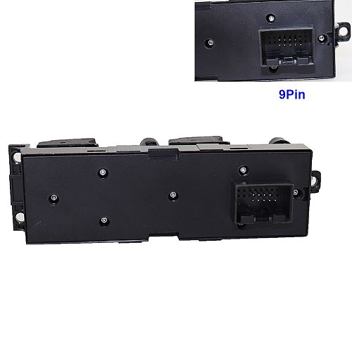 Window Panel Master Control Switch For VW Golf Jetta Bora Passat B5 Seat Leon Toledo Superb 2000 2001 2002 2003 2004 1J4959857