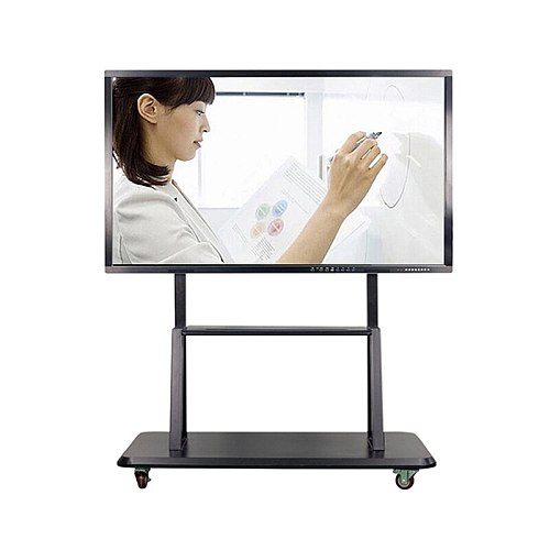 65 75 85 inch wifi 4k Electronic teaching digital presentation boards interactive lcd touch screen monitor smart tv whiteboard