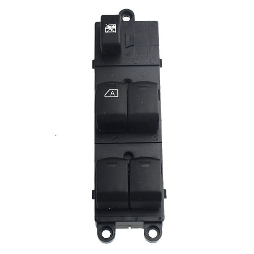 Front Left Master Electric Window Switch For Nissan Navara D40 Qashqai Pathfinder 04-16 25401-EB30B 25401-JD001