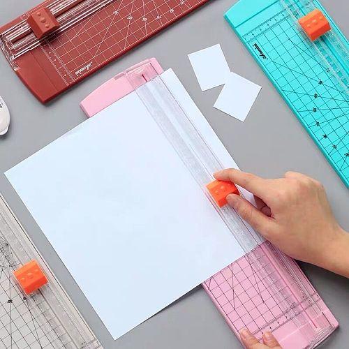 Sharkbang Desktop Photo Paper Cutter A3 A4 Manual Paper Jam Photo Film Cutting Machine Knife Blade Art Trimmer Craft Tool
