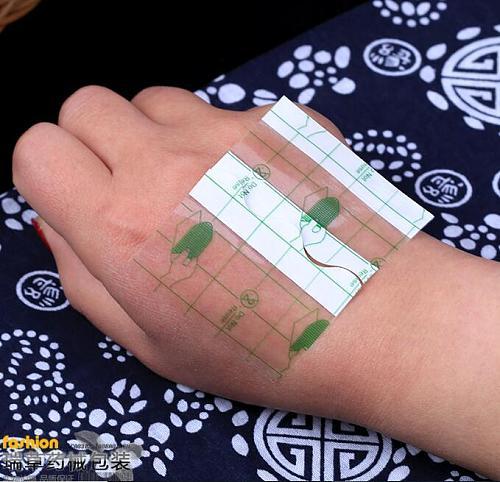 100pcs Adhesive Plaster Waterproof Transparent Adhesive Fixation Tape Bandage Wound Dressing Fixer PU Film Roll