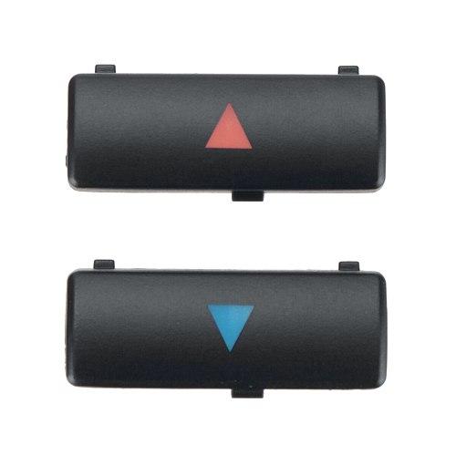 2pcs E39 X5 Car Climate A/C Temperature Control Panel Button Key Caps Switches Kit For BMW 5 Series E39 X5 E53 M5 64116924315