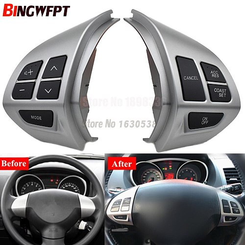 Bluetooth Phone Cruise Control steering wheel switch for Mitsubishi Lancer EX 10 Lancer X Outlander ASX Colt Pajero Sport