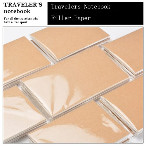 Fromthenon Travelers Notebook Filler Papers For Monthly Weekly Plan Planner Retro Diary Refill Inner Core Vintage Stationery