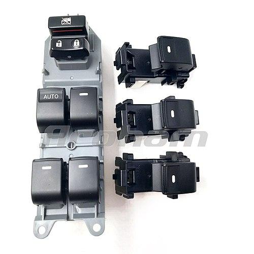 Lighted LED Power Single Window Switch set For Toyota RAV4 RAV 4 Camry Corolla Yaris Cruiser Vios Left driving backlight