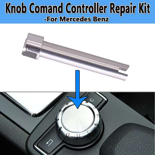 New Radio Command Console Controller Rotary Switch Button Scroll Knob Shaft Repair Fix For Mercedes For Benz W204 X204 W212 W218