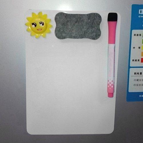 21*15cm Magnet whiteboard Waterproof Whiteboard Writing Board Magnetic Fridge Erasable Message Board Memo Pad Drawing Board