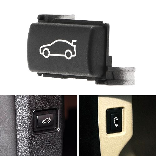 1 Pcs Car Trunk Unlock Release Button Cover For BMW 3/5/7 Series F20 F30 F35 F10 F11 F18 E84 OEM 61319200316 Car Accessories