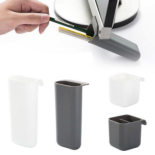 Creative Pasteable Desk Pen Pencil Organizer Pen Holder Desktop Storage Boxes Office School Stationery Sundries Storage Holders