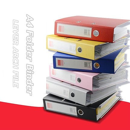 Large Capacity A4 Paper Organizer 2 Ring Binder Folder Waterproof Case For documents