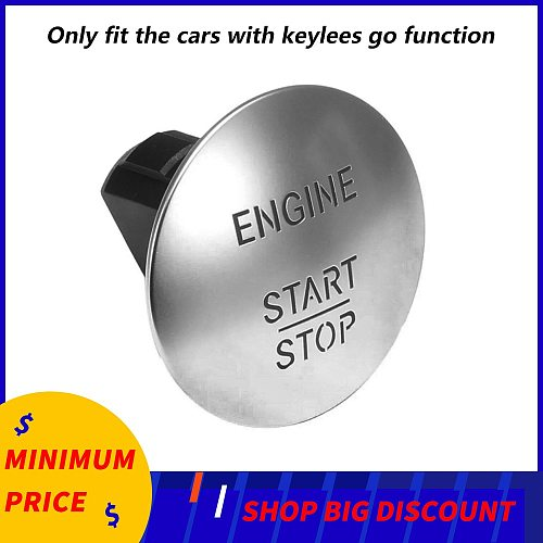 Engine lgnition Start Stop Button Switch For Mercedes Benz W164 W251 W204 205 W221 One-click Start Keyless Buttons