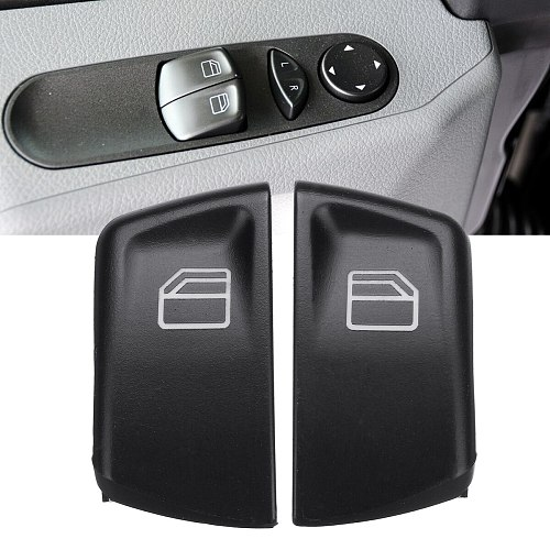 2x Plastic Window Console Control Power Switch Push Buttons L+R Mercedes Vito W639 Series 2003-2015 Sprinter MK2 W906 2005-2015