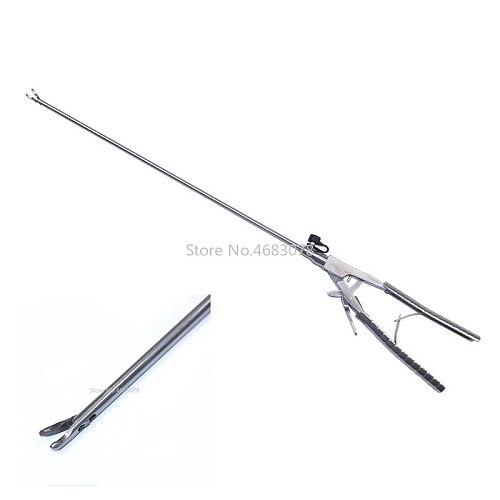 V-shaped Laparoscopic Simulation Training Instruments Needle Holder Forceps Surgery Practice Tool Educational Equipment