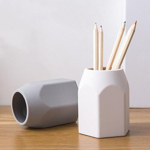 Sharkbang Silicone Pen Holder Pencil Stand Desktop Storage Case Box Desk Office Organizer Holder School Stationery Supplies