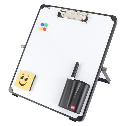 8pcs/1set Tabletop Whiteboard Office School Writing Board With Pen Eraser Magnets Buttons Kids Home Office Message Drawing Board