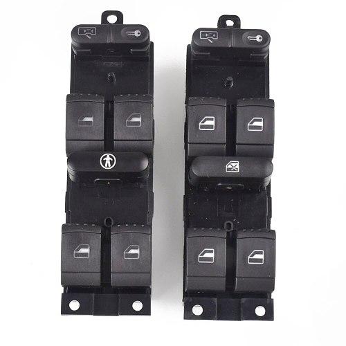 1J4959857 Window Panel Master Switch Press For VW Passat Golf Jetta MK4 B5 1999 2000 2001 2002 2003 2004