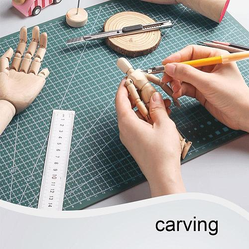 1PC A4 Cutting Mat Grid Lines Self Healing Cutting High Card Mats Board Paper Craft Quality Fabric Leather For Sewing